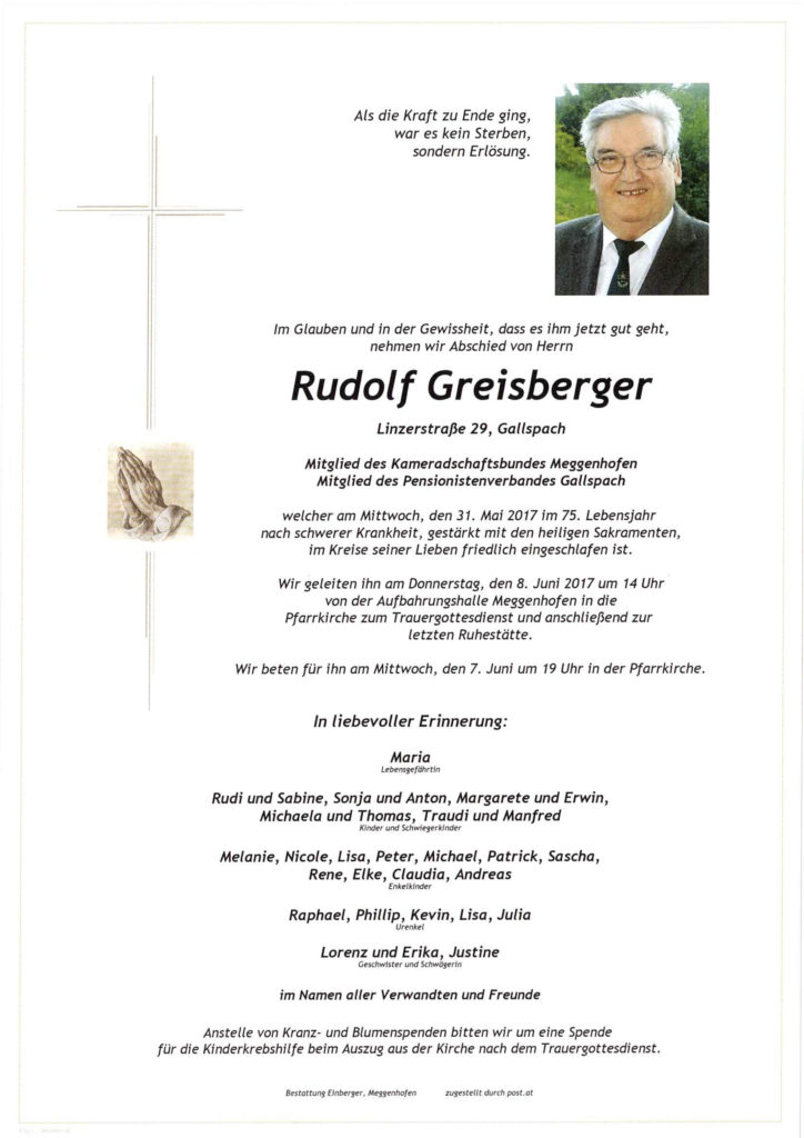 Rudolf Greisberger