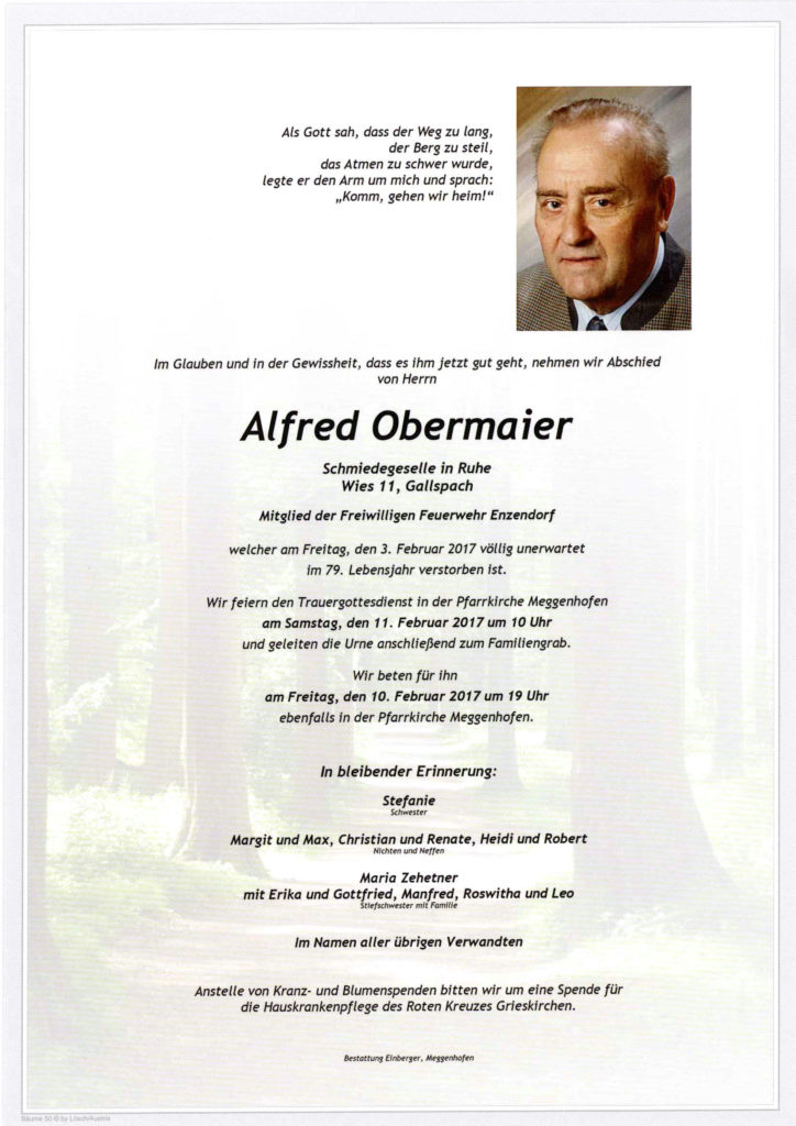 Alfred Obermaier