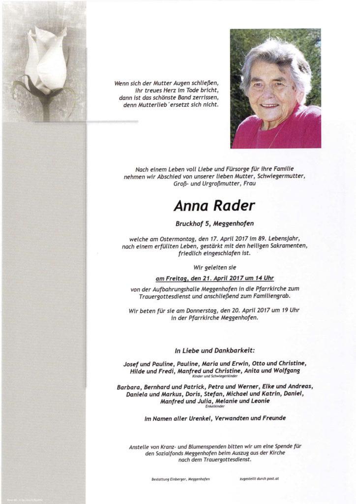 Anna Rader