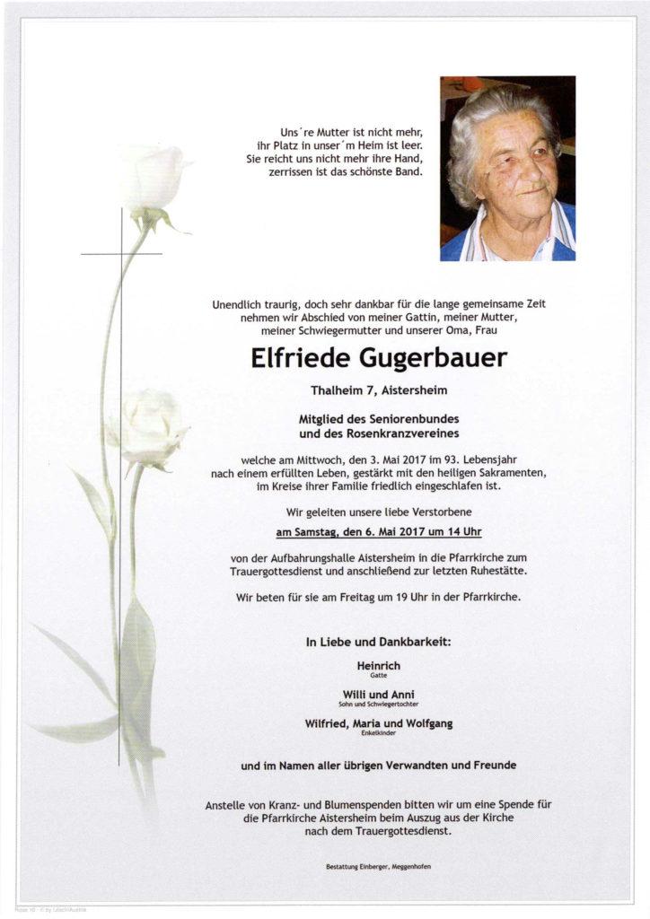 Elfriede Gugerbauer