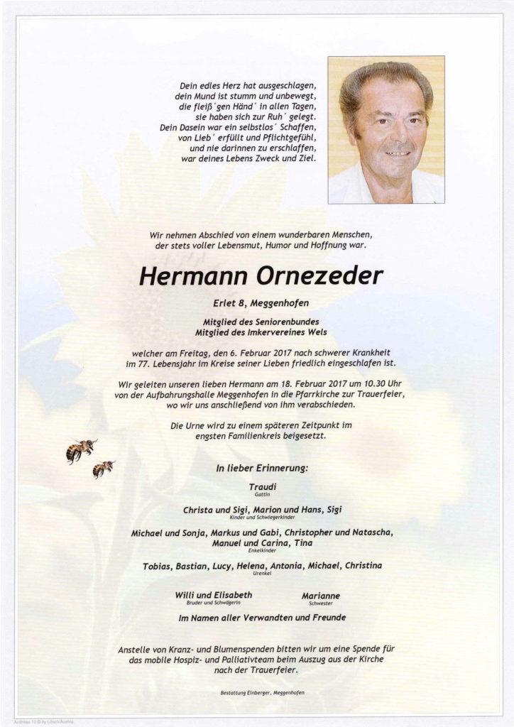 Hermann Ornezeder