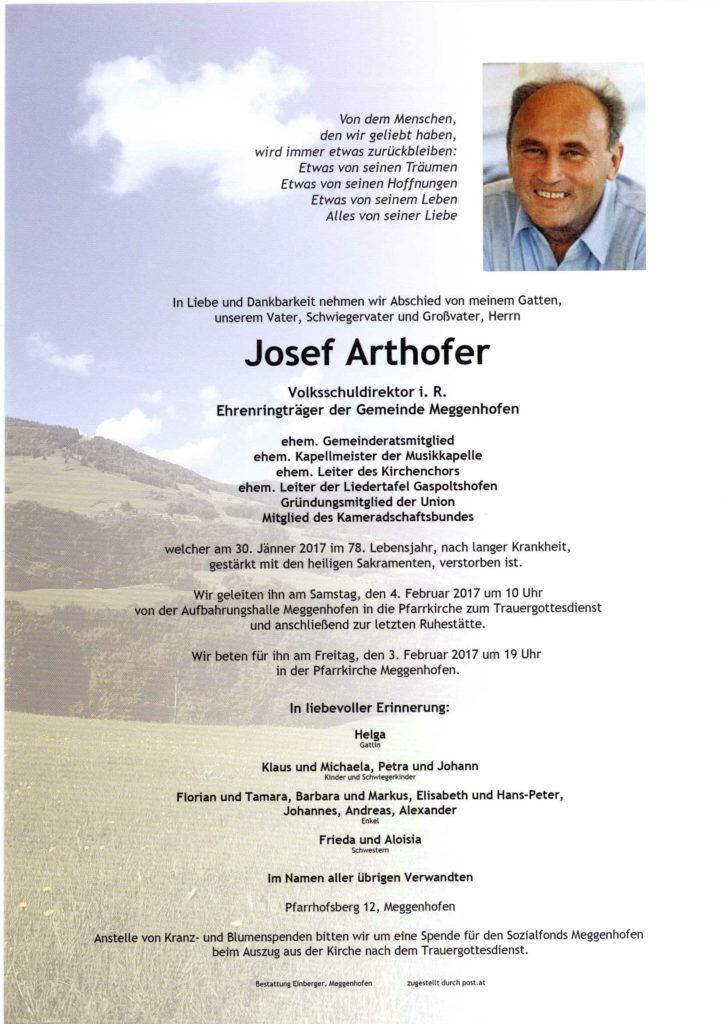 Josef Arthofer