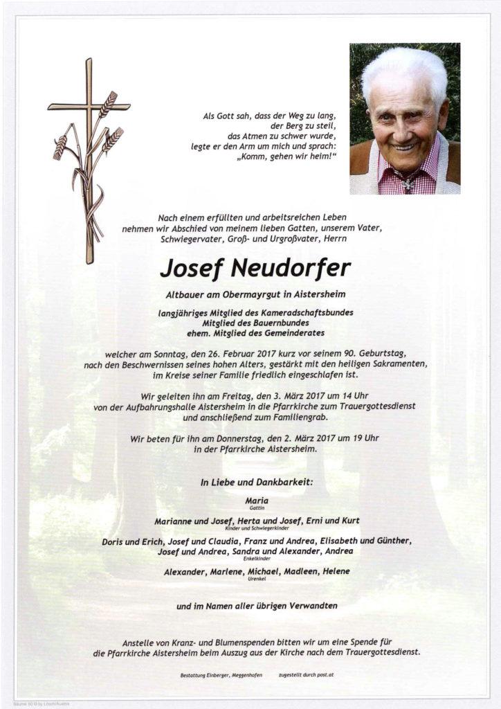 Josef Neudorfer