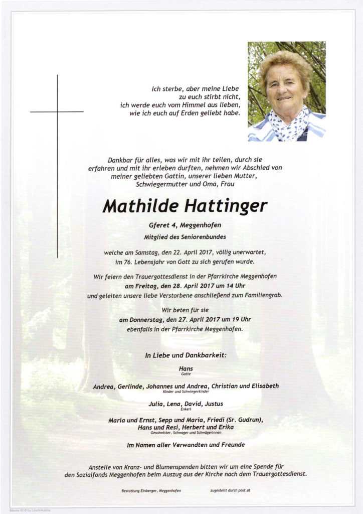 Mathilde Hattinger