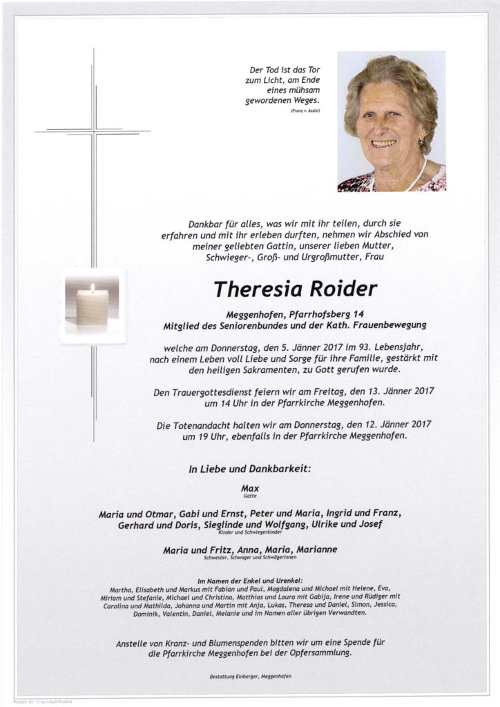 Theresia Roider