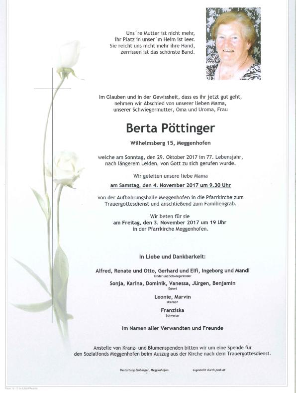 Berta Pöttinger