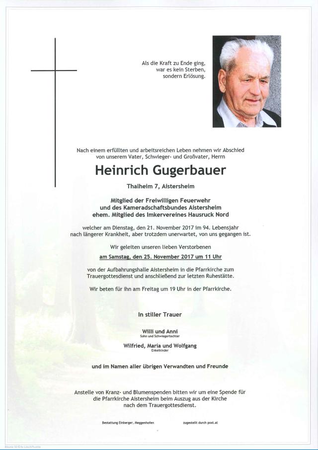 Heinrich Gugerbauer