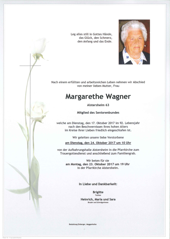 Margarethe Wagner