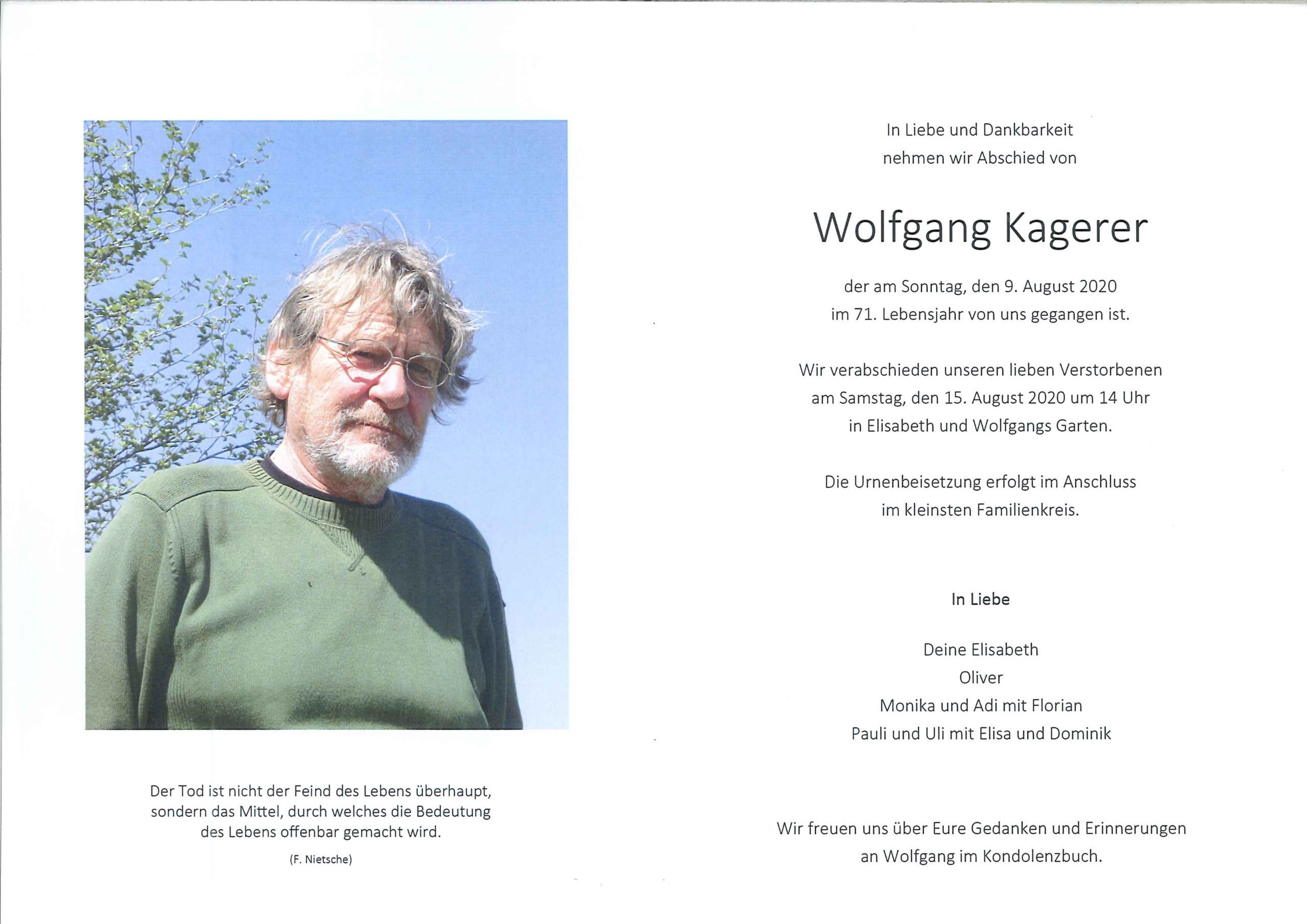 Wolfgang Kagerer