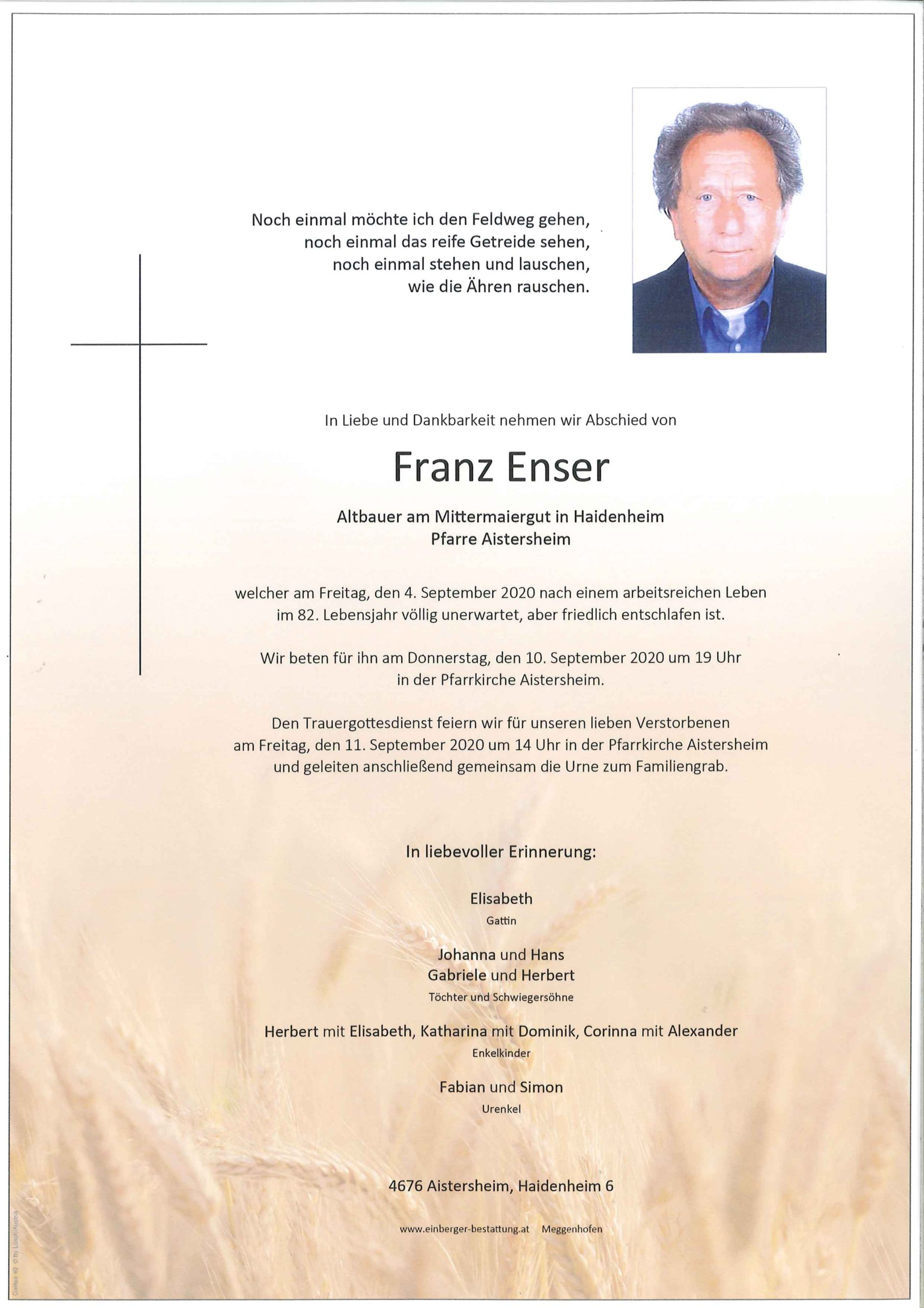 Franz Enser